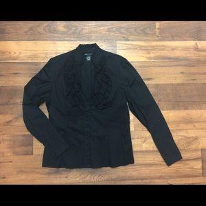 BCBGMaxAzria blouse size XL